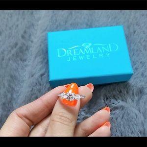 DREAMLAND | Sterling Silver Gem Ring / Size 7